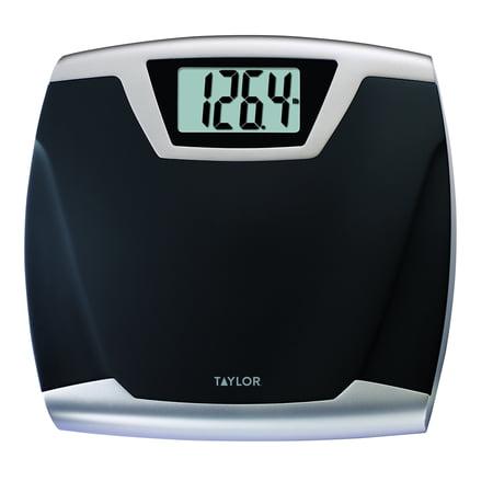 taylor lithium digital thin profile bath scale model 7340 - Walmart Bathroom Scale