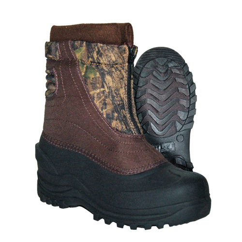 Itasca SNOW STOMPER Mens Brown Camo Warm Winter Boots by