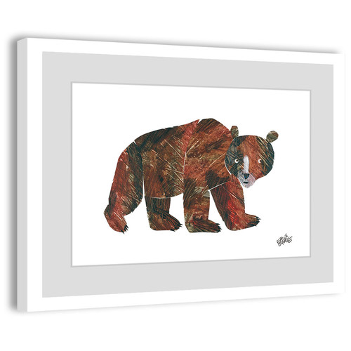 Eric Carle Big Brown Bear 2 Framed Art Print