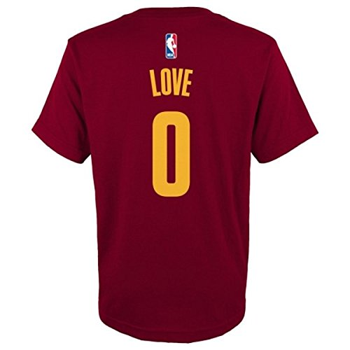 Cleveland Cavaliers Kevin Love Adidas NBA Men Player T Shirt Maroon