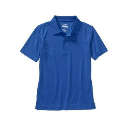 School Uniform Boys Short Sleeve Performance Polo Shirt