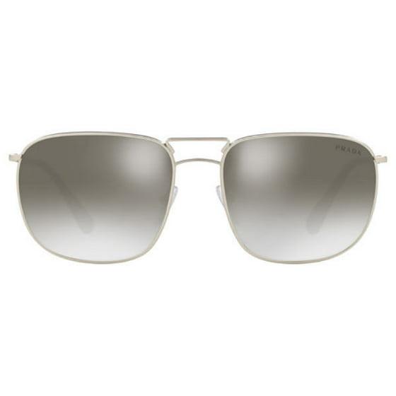 ffb98b665 Prada - Authentic Prada Sunglasses SPR52T 1AP-4S1 Silver Frames Gray ...
