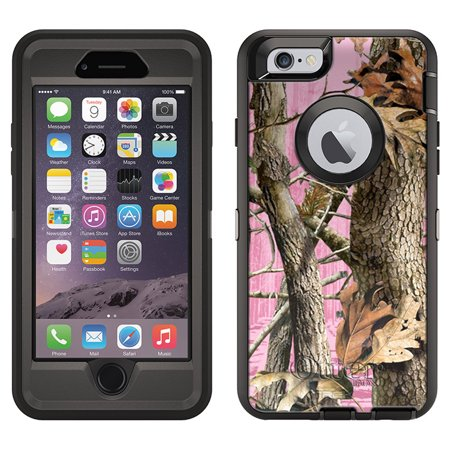 OtterBox Defender Apple iPhone 6S Case - Camo Tree on Pink OtterBox Case aa0c69e59049