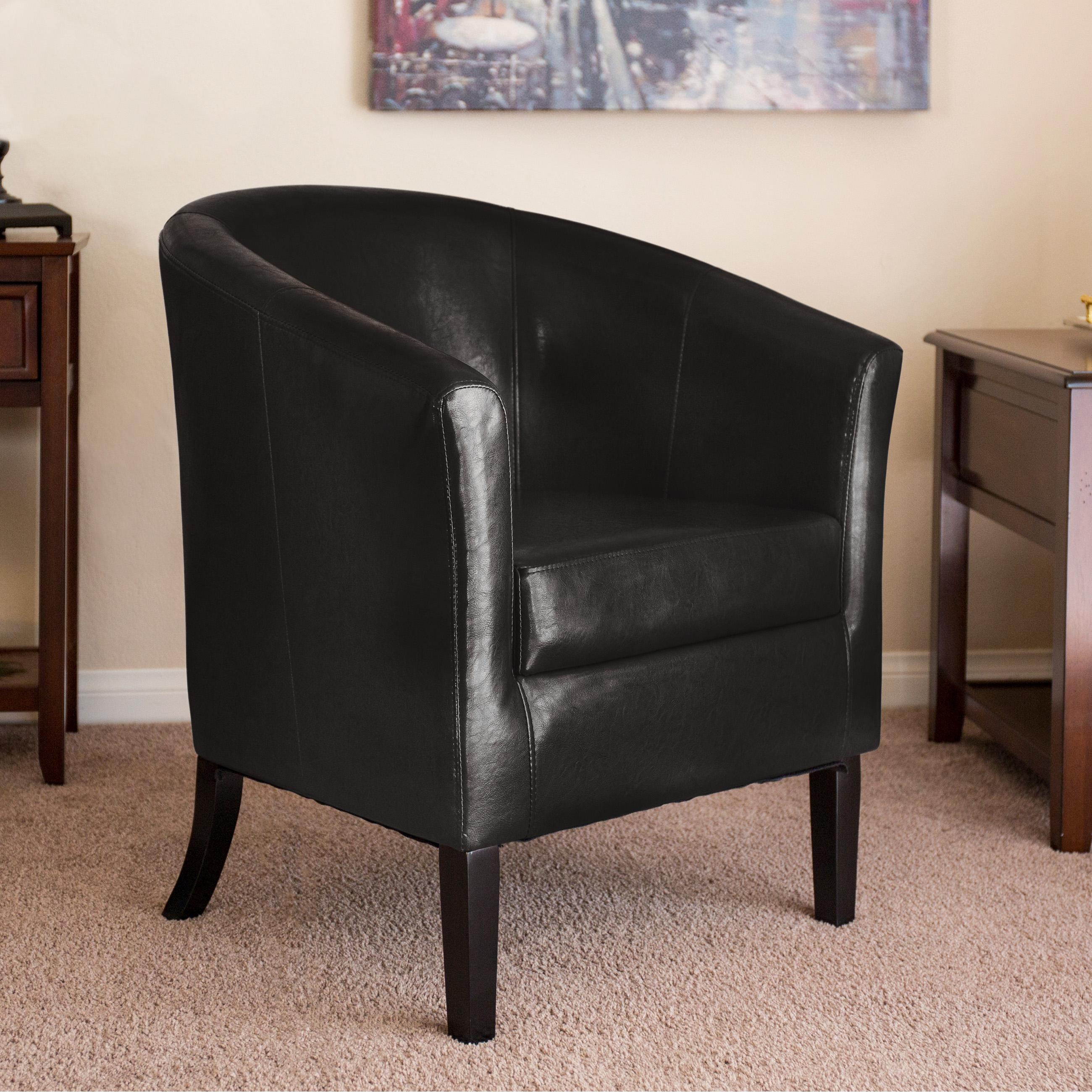 Best Choice Products Modern Barrel Club Accent Arm Chair W