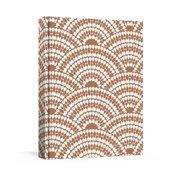House Industries Copper Linen Journal