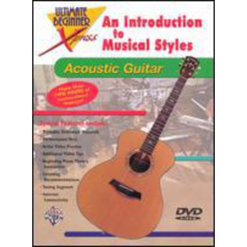 Alfred 00-999043 Ultimate Beginner Xpresso- An Introduction to Musical Styles for Acoustic Guitar - Music Book