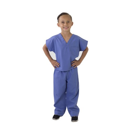 M&M Scrubs - FREE SHIPPING Kids Scrubs Super Soft Children Scrub Set Kids Doctor Dress up (Mens Dress Up Outfits)