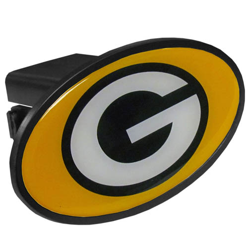 Green Bay Packers Official NFL  Trailer Hitch Cover by Siskiyou