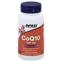 CoQ10, With Hawthorn Berry, 100 mg, 90 Veg Capsules