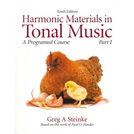 Harmonic Materials in Tonal Music: A Programmed Course, Part 1 with Audio CD [With CDROM] Paperback Audio Harmonic Transformer