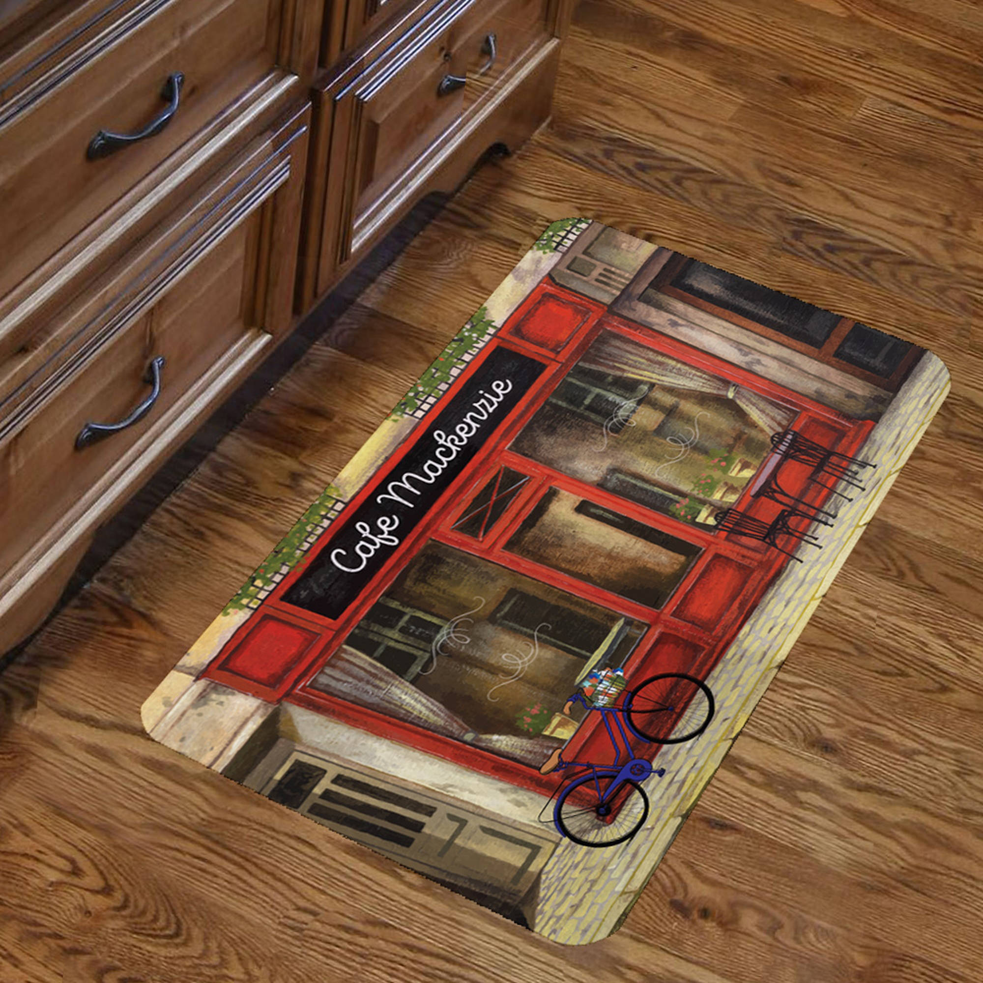 "Personalized Store Front Design Floor Mat , 26.5"" x 17.5"""