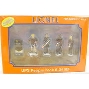 Lionel 6-34195 Pewter UPS People Figures #2