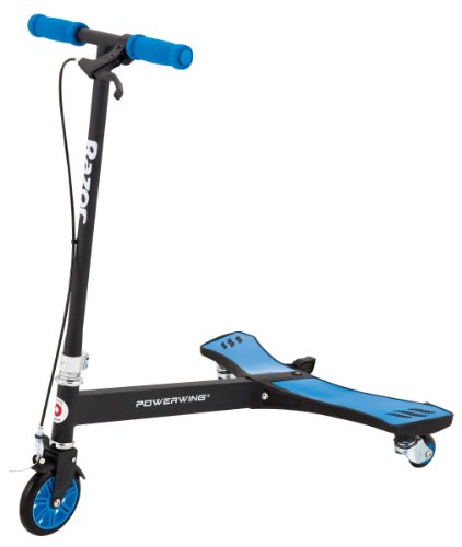 Razor PowerWing 3-Wheeled Scooter, Blue