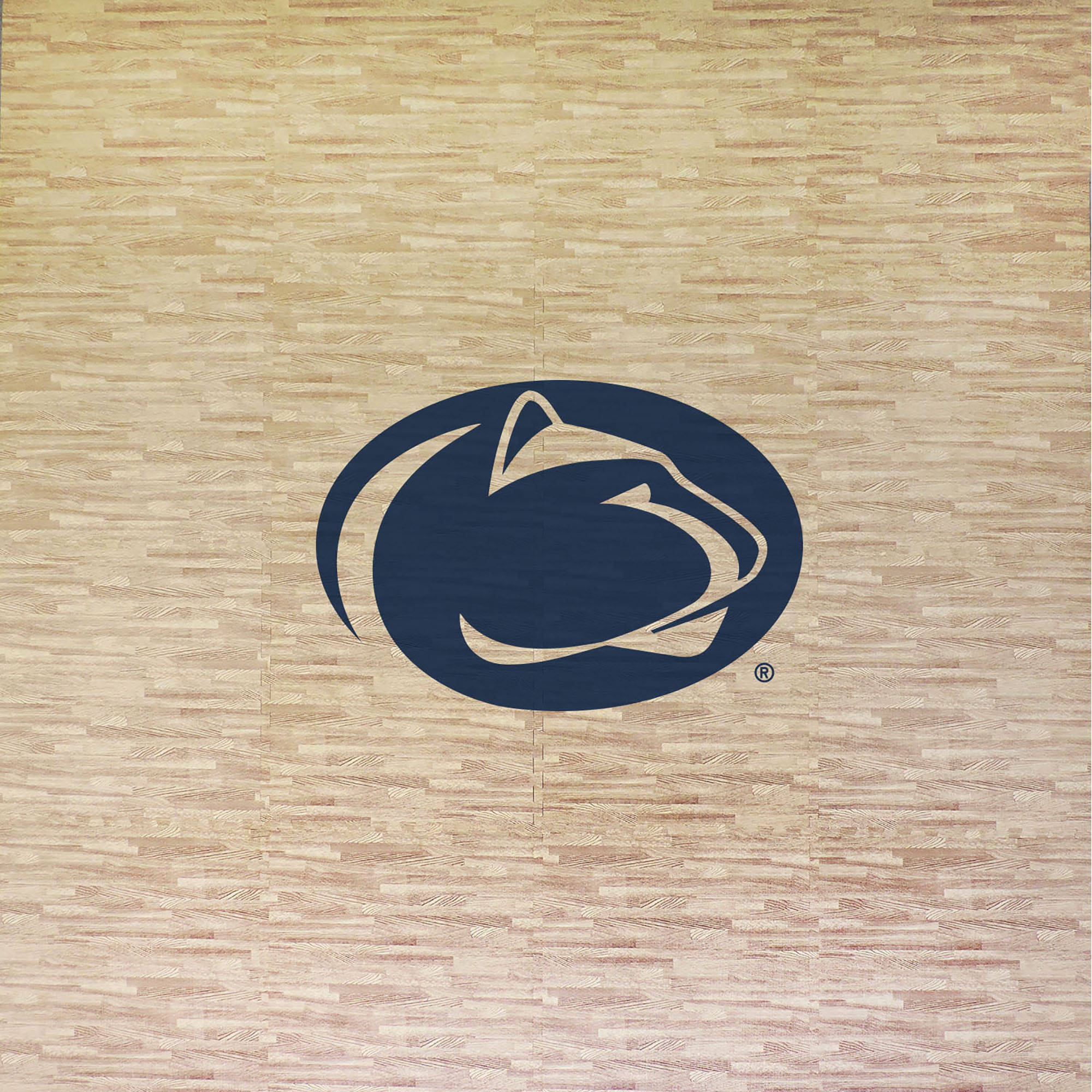 Penn State University Portable Foam Puzzle Tailgate Floor Mat by Coopersburg Sports