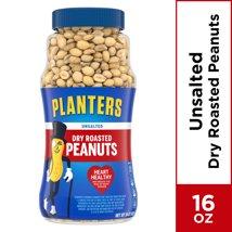 Nuts & Seeds: Planters Dry Roasted Peanuts Unsalted