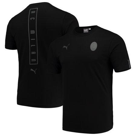 newest 71d50 25ca4 AC Milan Puma Team Fan T-Shirt - Black
