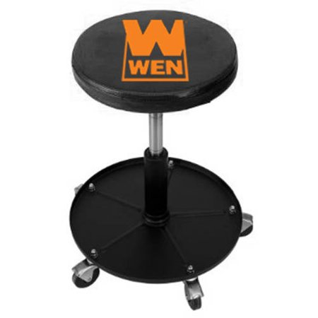 Pneumatic Shop Stool (300lb Capacity Pneumatic Rolling Mechanic)