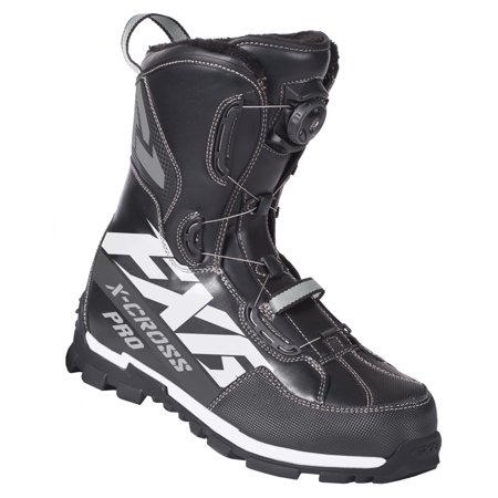 FXR Snowmobile High-Performance Insulated X-Cross Pro BOA Boot Lace System -