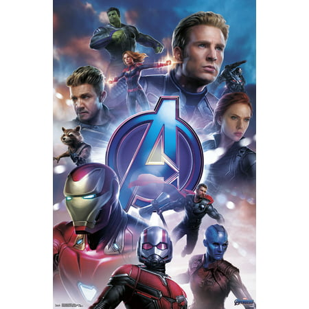 - Avengers: Endgame - Group Poster