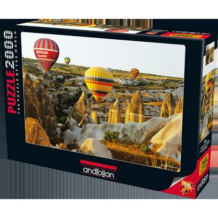 Anatolian Puzzle 2000 Piece - Fairy Chimneys And Balloons](1000 Balloons)