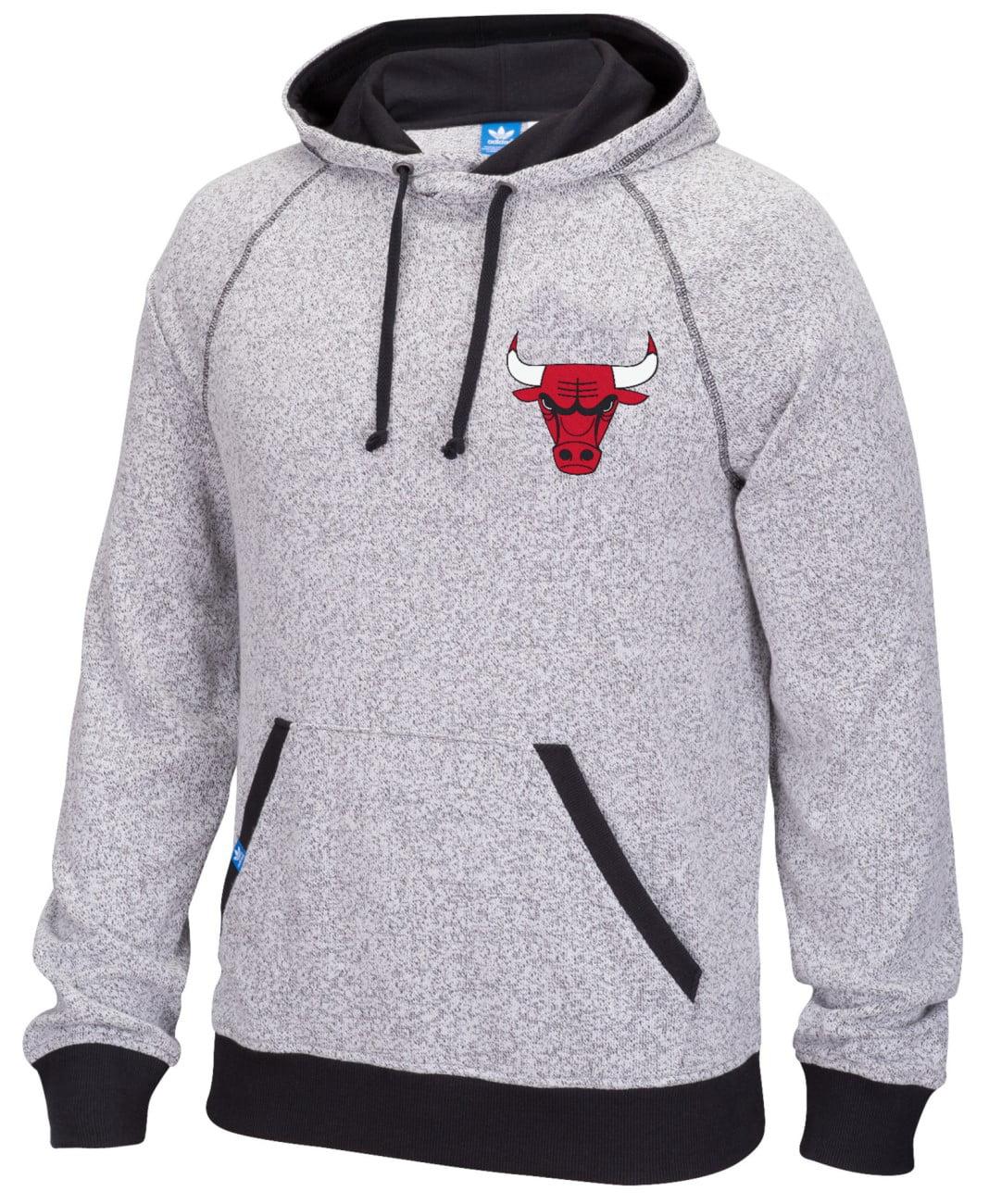 "Chicago Bulls Adidas NBA ""Originals"" Men's Pullover Hooded Sweatshirt by Adidas"