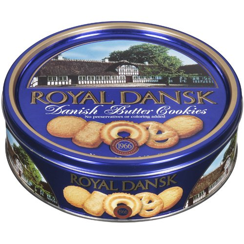Royal Dansk Danish Butter Cookies, 12 ounce tin