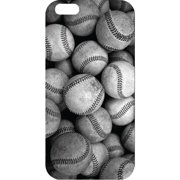 iPhone 6 Black Matte Case Rugged Collection, Baseball