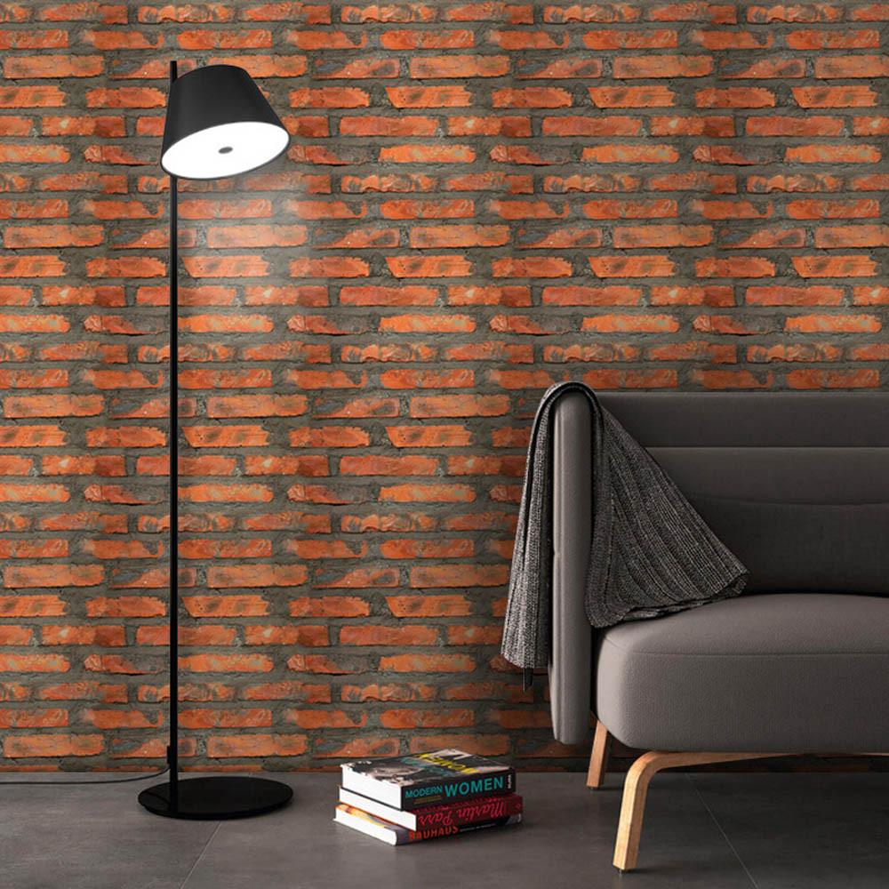 Simulation Brick Stone Rustic Effect Self-adhesive Wall Sticker Home Decor C