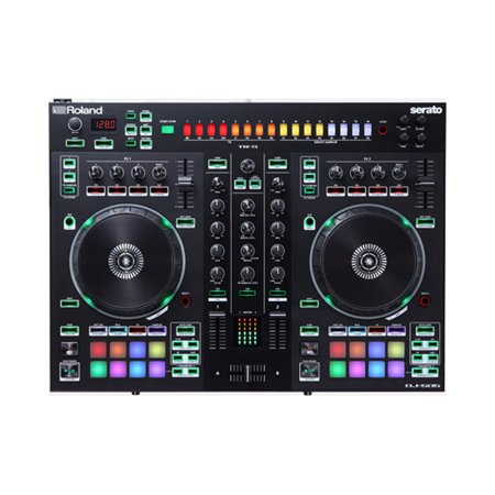 Roland DJ-505 2 Channel 4 Deck Scratch Friendly Portable Serato DJ