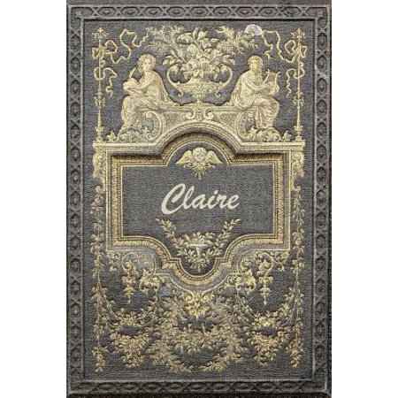 Claire : Classic Style Comprehensive Garden Notebook with Garden Record Diary, Garden Plan Worksheet, Monthly or Seasonal Planting Planner, Expenses, Chore List, Highlights Simulated Leather