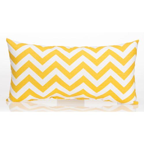 Zoomie Kids Bullington Chevron Lumbar Pillow