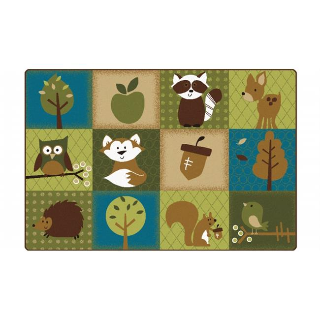 Carpets for Kids 22724 Natures Friends Toddler Rug