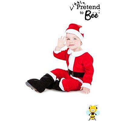 childrens toddler cute little santa suit christmas costum...