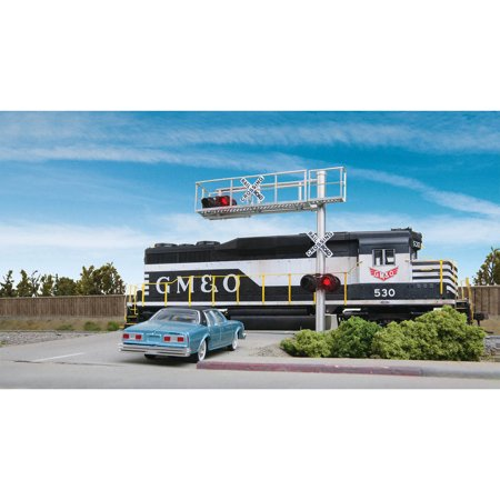 Walthers SceneMaster HO Scale Modern Cantilever Grade Crossing Signal (Modern Grade Crossing)