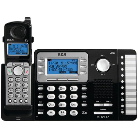 RCA 25212 2-Line Expandable Cordless Phone with Caller (Rca Expandable Telephone)