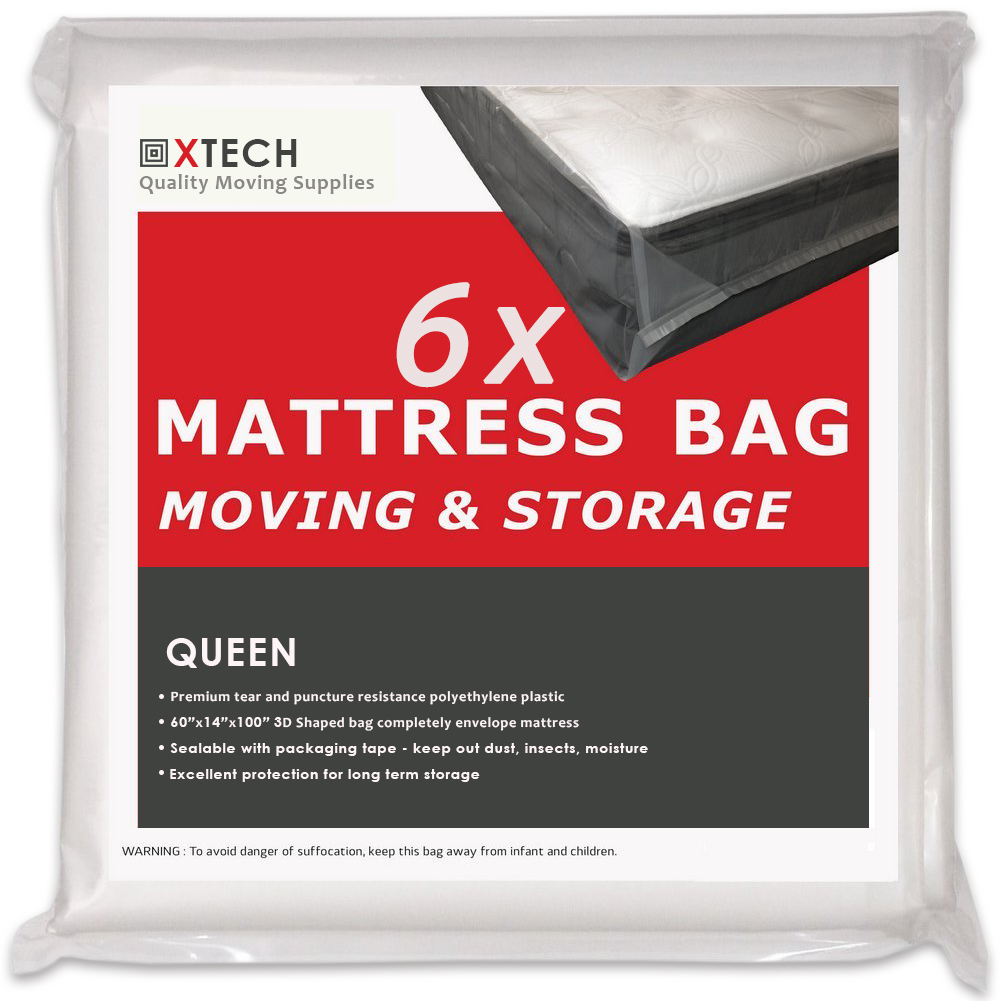 6 Queen Mattress Bags For Moving High Quality Disposal