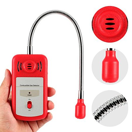 (UFHTech KXL-8800A Portable Flammable Gas Detector Gas Leak Location Tester Sound And Light Alarm No Display)