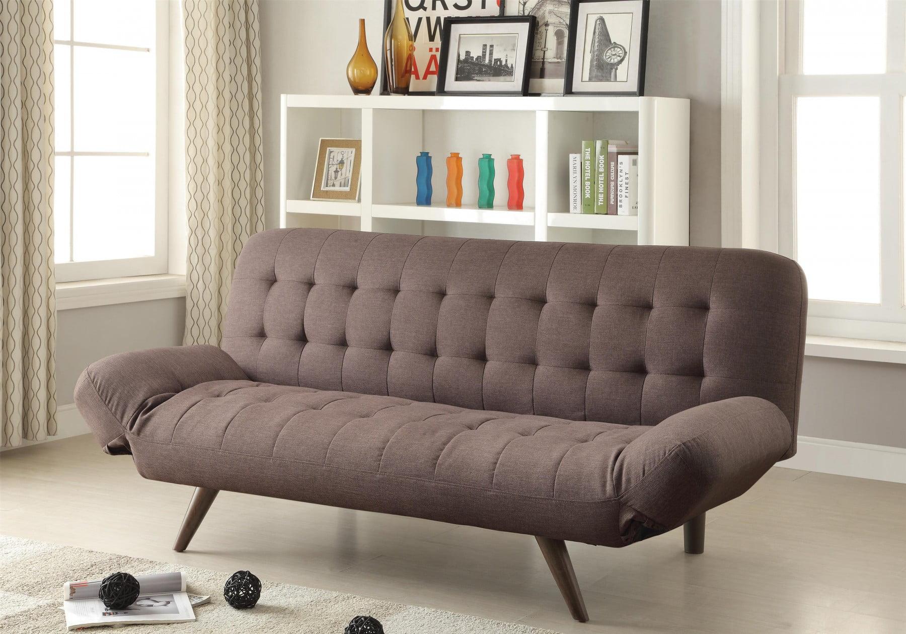 Brown Futon Sofa Bed Com