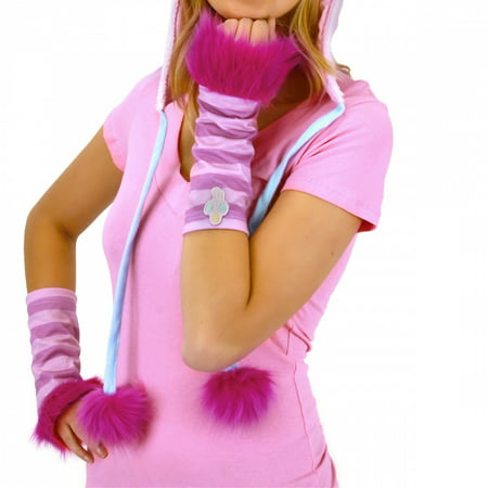 My Little Pony Pinkie Pie Costume Glovettes - Pinkie Pie Equestria Girl Costume