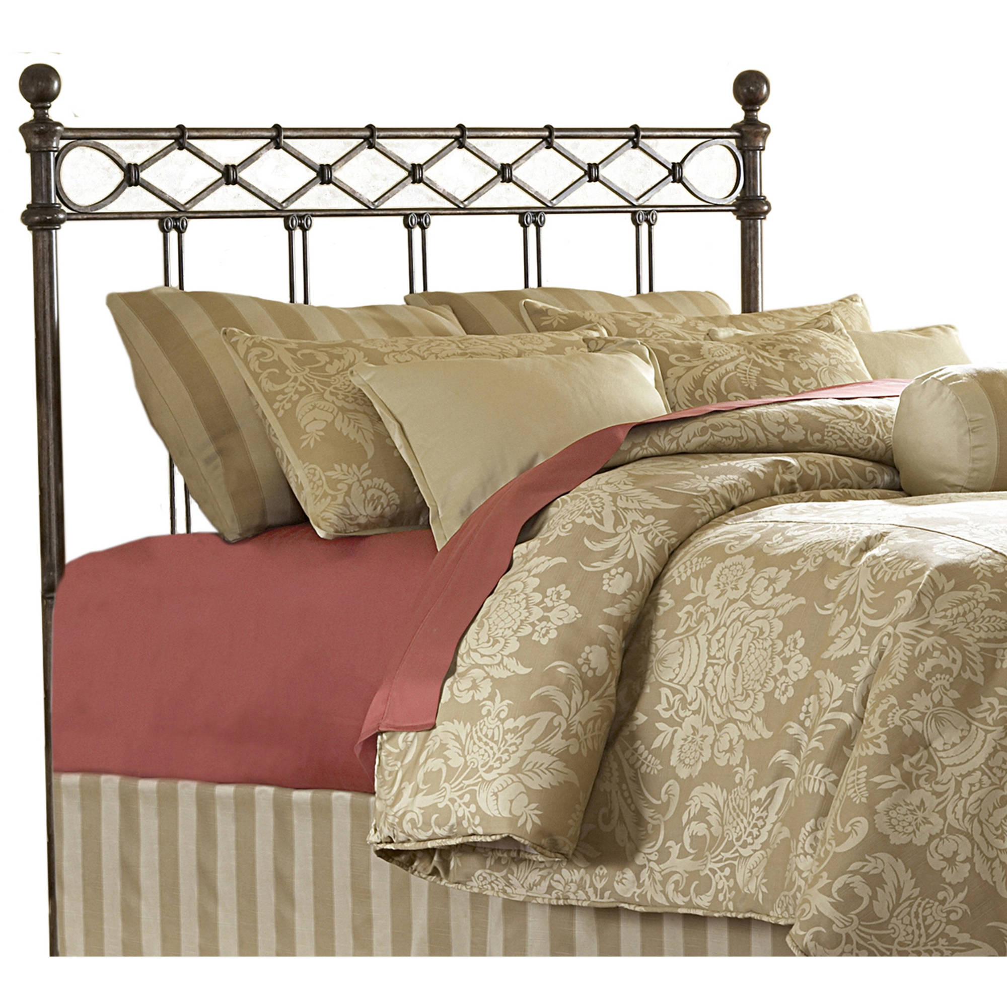 bed allen moss wesley abode headboard by iron abington finish wesleyallen frame copper humble with textured