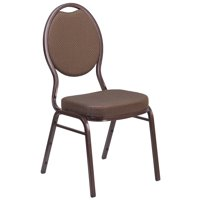 Lancaster Home HERCULES Series Teardrop Back Stacking Banquet Chair