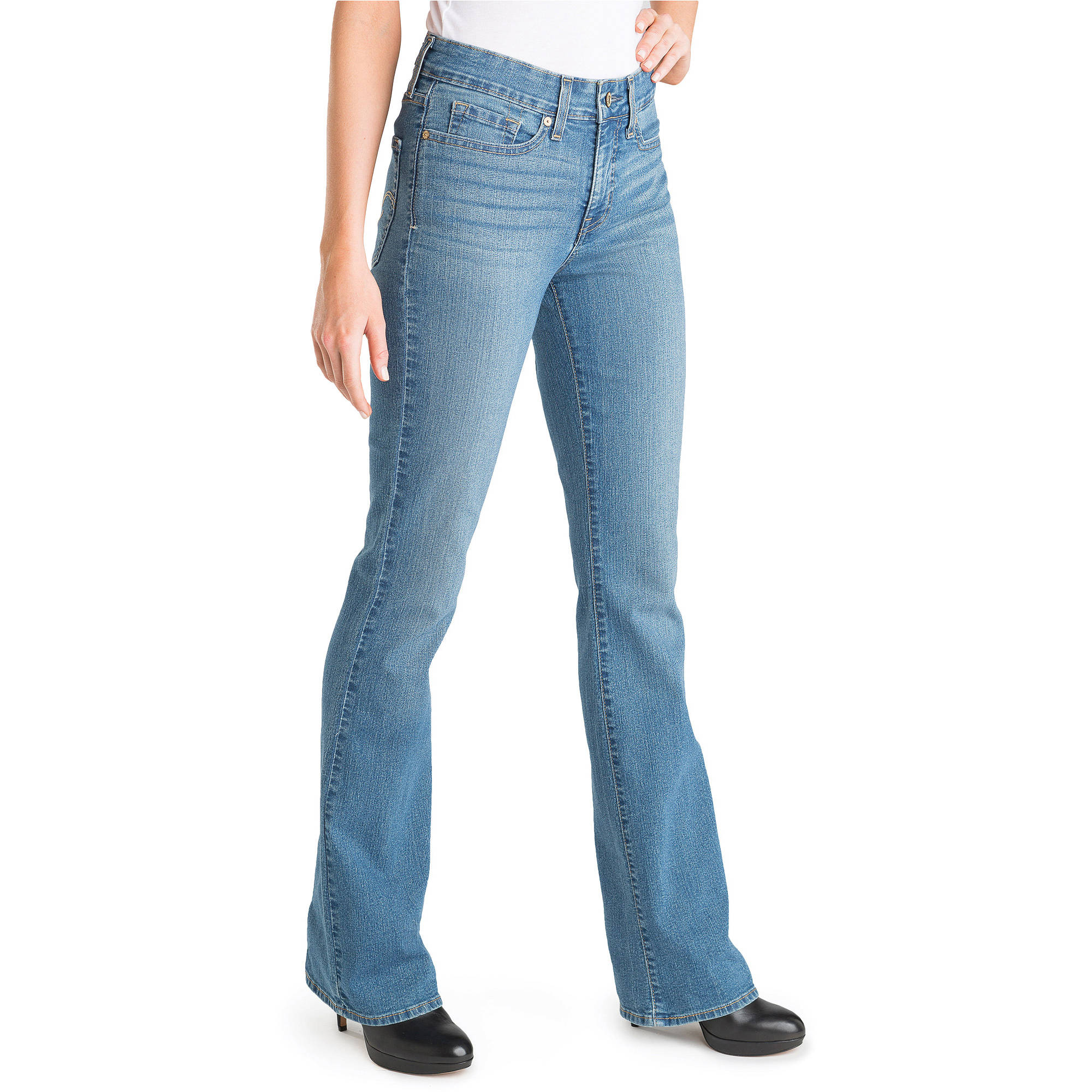 Juniors long bootcut jeans