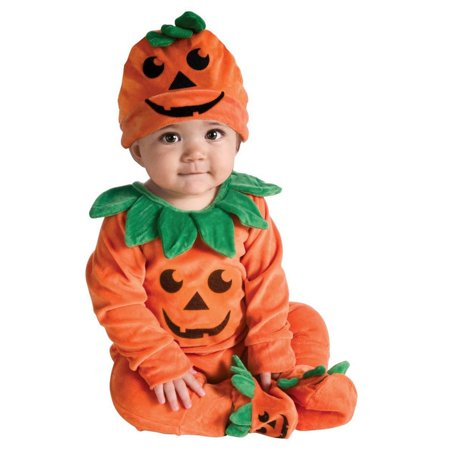 Halloween Lil' Pumpkin Infant Costume - Infant 6-9 Month Halloween Costumes