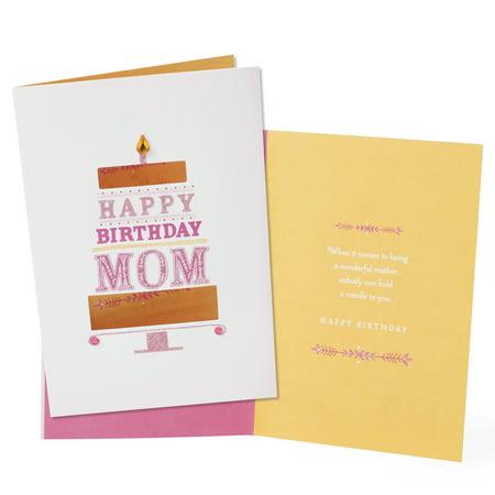 Hallmark birthday card to mom birthday cake walmart hallmark birthday card to mom birthday cake bookmarktalkfo Images