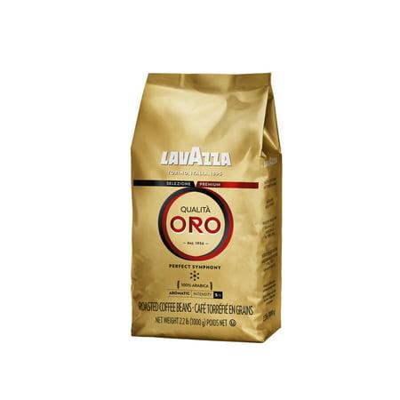 Lavazza Qualita Oro - Whole Bean Coffe, 2.2 lb - Qualita Short