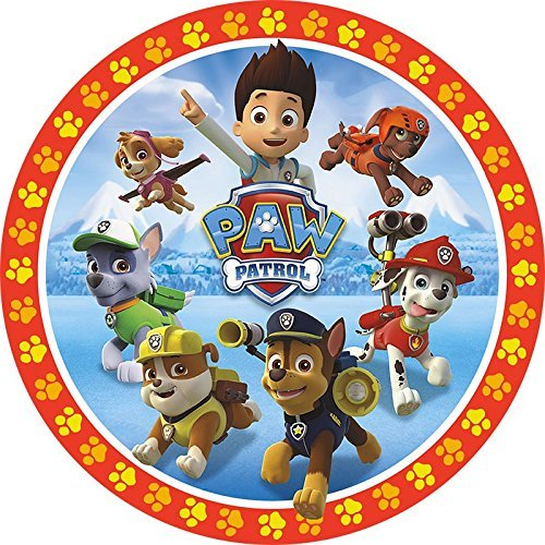 PAW PATROL  Group Edible Frosting  Image Cake Topper - 8 Inches Round -