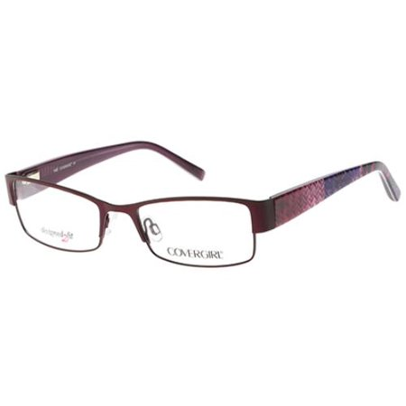 f6cf38df349 COVER GIRL Eyeglasses CG0438 083 Violet 54MM - Walmart.com