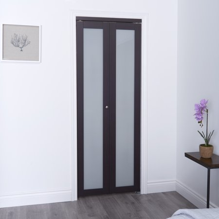Truporte 36 In X 80 In 3030 Series 1 Lite Tempered Frosted Glass
