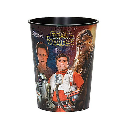 Star Wars Episode 7 The Force Awakens 16 oz. Plastic Cup - Star Wars Party Cups