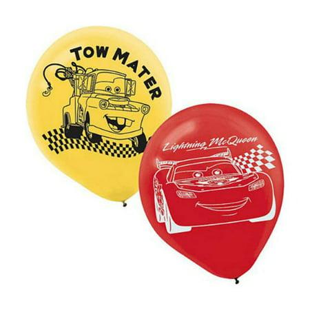 Cars Latex Balloons (6ct)](Car Balloons)